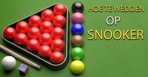Hoe Te Wedden Op Snooker