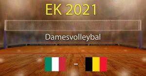 Italië - België 2021 EK Dames Volleybal Voorspellingen en goktips