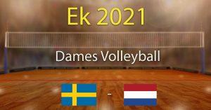 Zweden - Nederland 2021 Europees Kampioenschap Volleybal Dames Kwartfinales Voorspellingen
